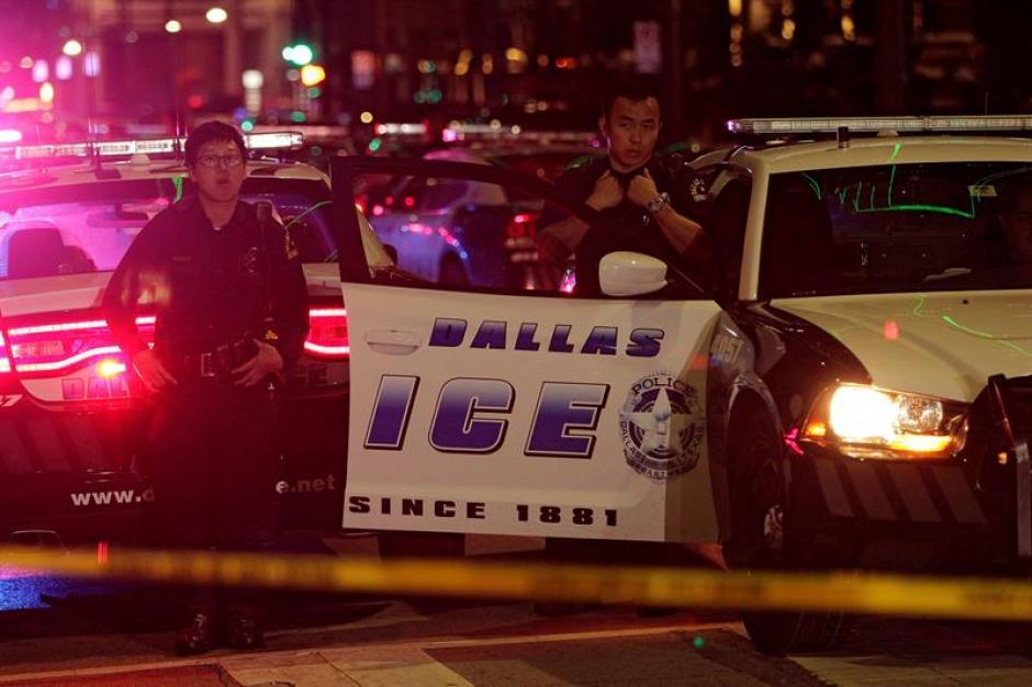 El percance ocurrió durante una manifestación por la muerte de un hombre afroamericano. (Foto: Efe)