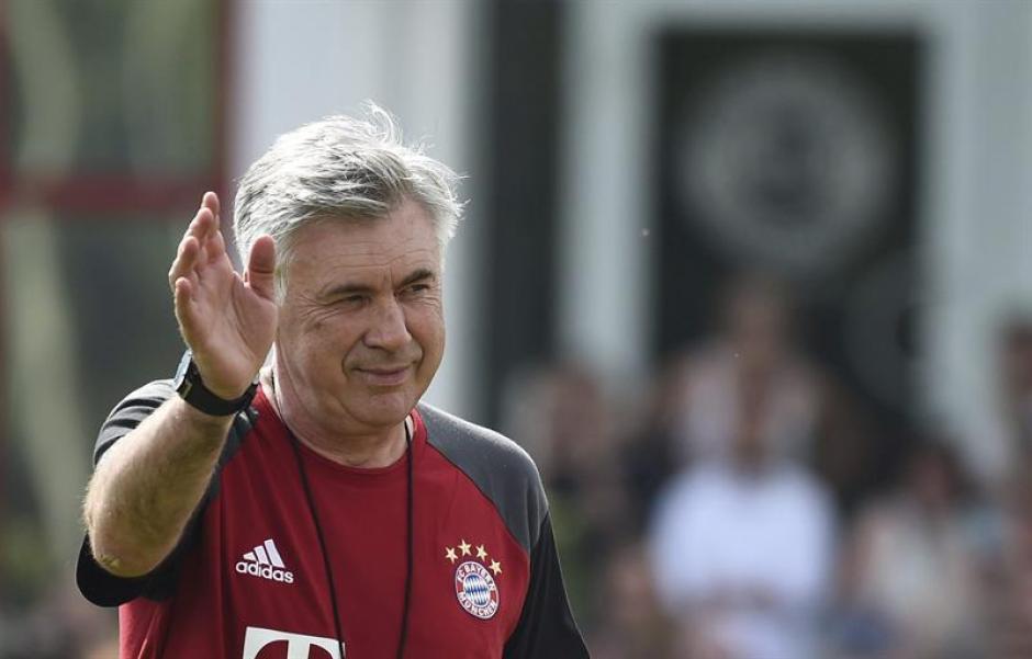 Carlo Ancelotti llega después de un año sabático. (EFE)