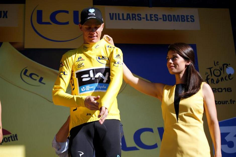 Chris Froome sigue como líder.  (Foto: EFE)