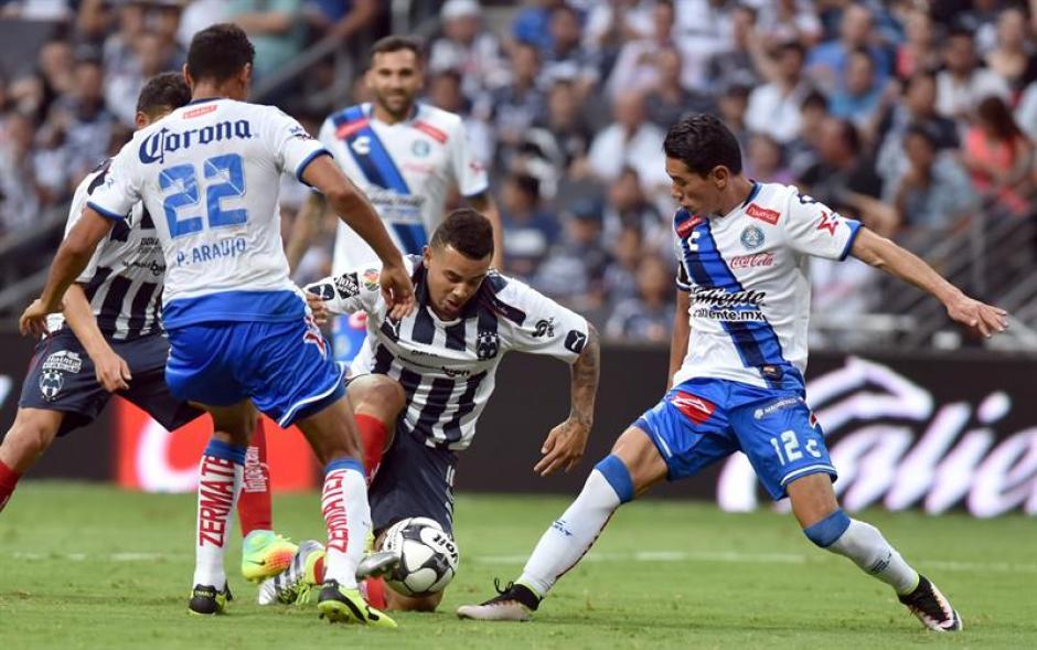 Puebla y Monterrey también se dividieron los puntos. (Foto: EFE)