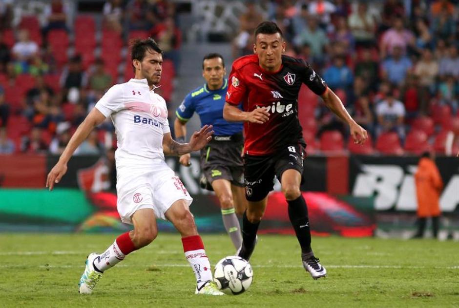 Toluca y Atlas empataron en un intenso partido. (Foto: EFE)