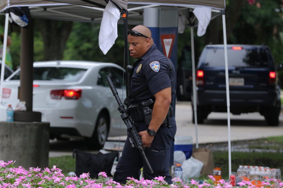 Tres policías fueron asesinados por un exmarine de los Estados Unidos. (Foto: EFE)