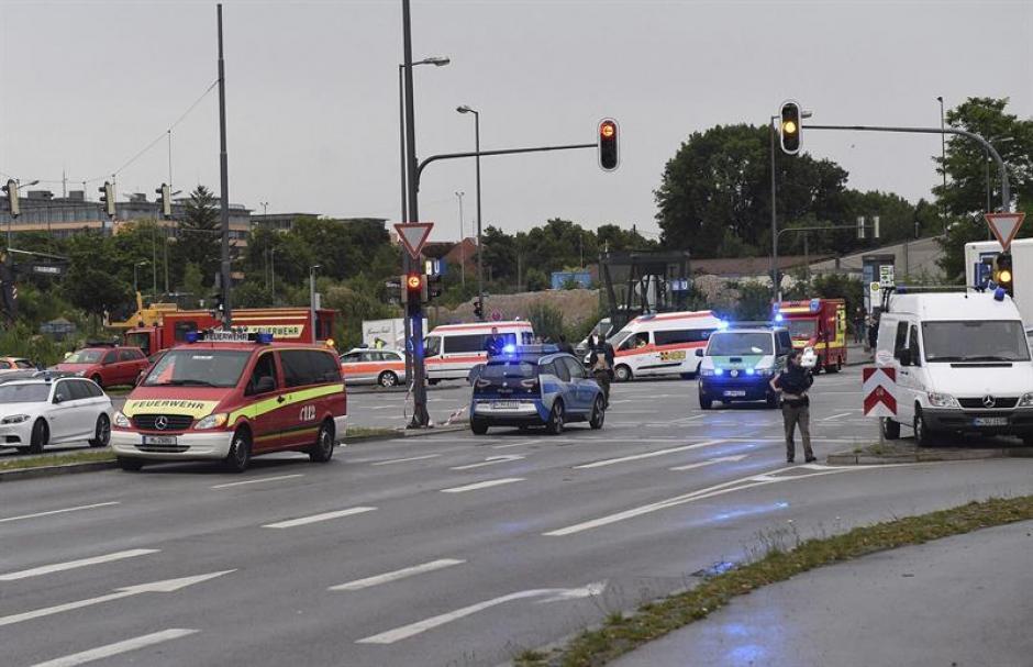 La ciudad de Múnich está en alerta por el ataque. (Foto: EFE)
