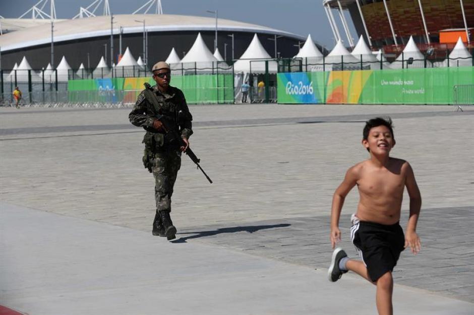 Se sospecha que querían atentar contra los Juegos Olímpicos (EFE)