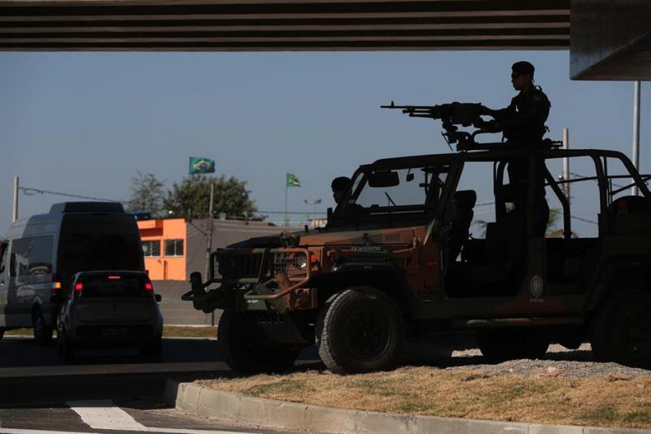 La seguridad está en alerta máxima en Río de Janeiro (EFE)