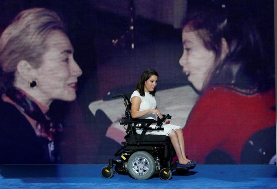 Anastasia Somoza, defensora de los derechos para personas discapacitadas. (Foto: Univisión Política)