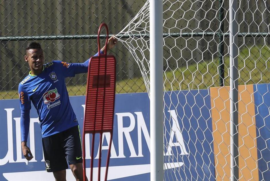 El brasileño ya está concentrado con la selección Sub 23. (EFE)