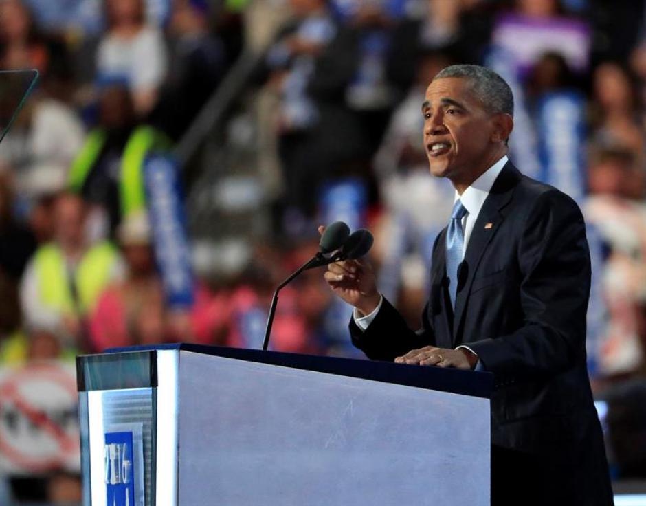 Obama ofreció su respaldo a Hillary Clinton. (Foto: EFE)