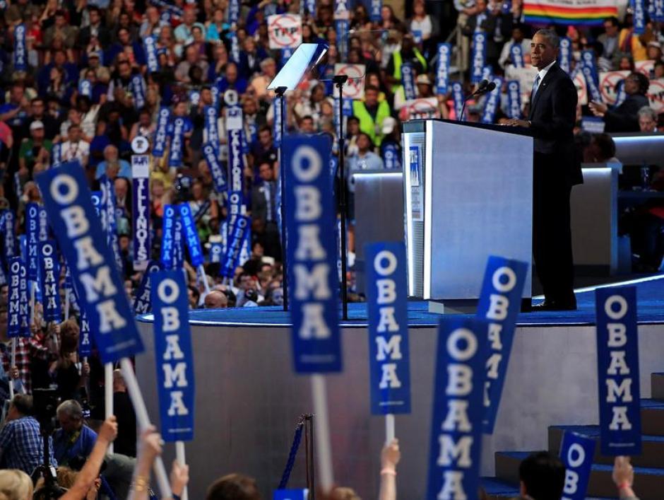 Hubo mucha expectativa antes del discurso de Obama. (Foto: EFE)