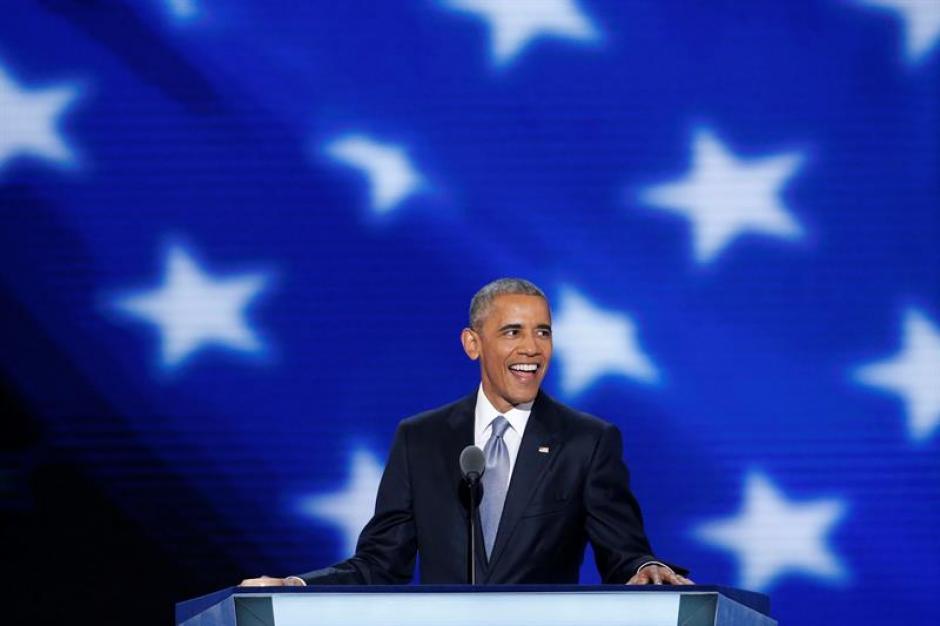 El Mandatario confió en los ciudadanos el voto a Hillary. (Foto: EFE)