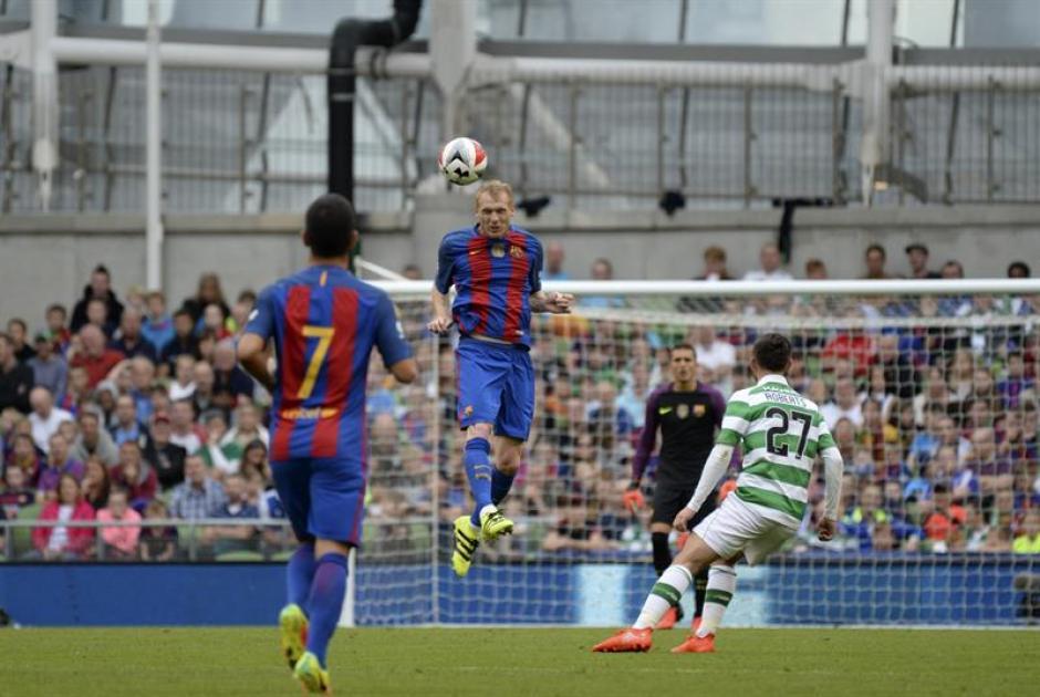 El resultado fue 3-1 para los azulgrana (AFP)
