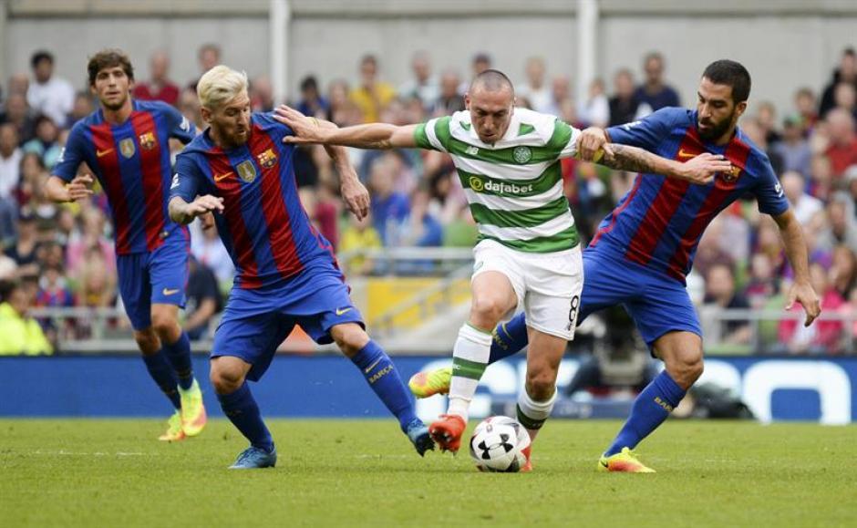 El Celtic no tuvo demasiadas oportunidades (AFP)