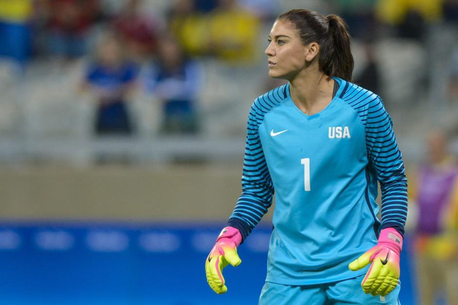 """Los espectadores le gritan a Solo """"zika"""" cuando ella tocaba el balón. (Foto: EFE/Daniel Oliveira)"""