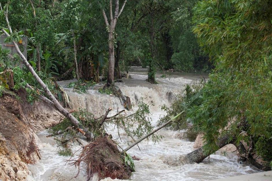 Petén y varios municipios fueron los más afectados. (Foto: EFE)