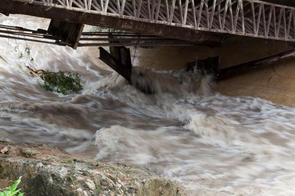 En Melchor de Mencos se vivió la emergencia. (Foto: EFE)