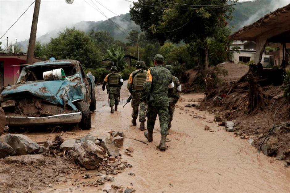 Las lluvias provocadas por la tormenta Earl afectaron a los Estados de Veracruz y Puebla. (Foto: EFE)