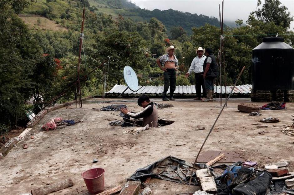 Las lluvias han dejado al menos 45 muertos en México. (Foto: EFE)