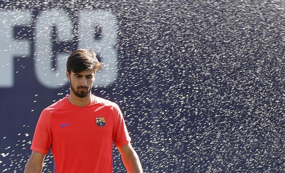 André Gomes, uno de los nuevos jugadores. (EFE)