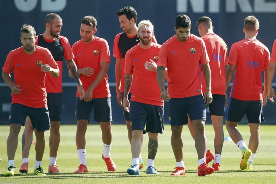 El Barcelona jugará el Trofeo Joan Gamper contra la Sampdoria. (EFE)