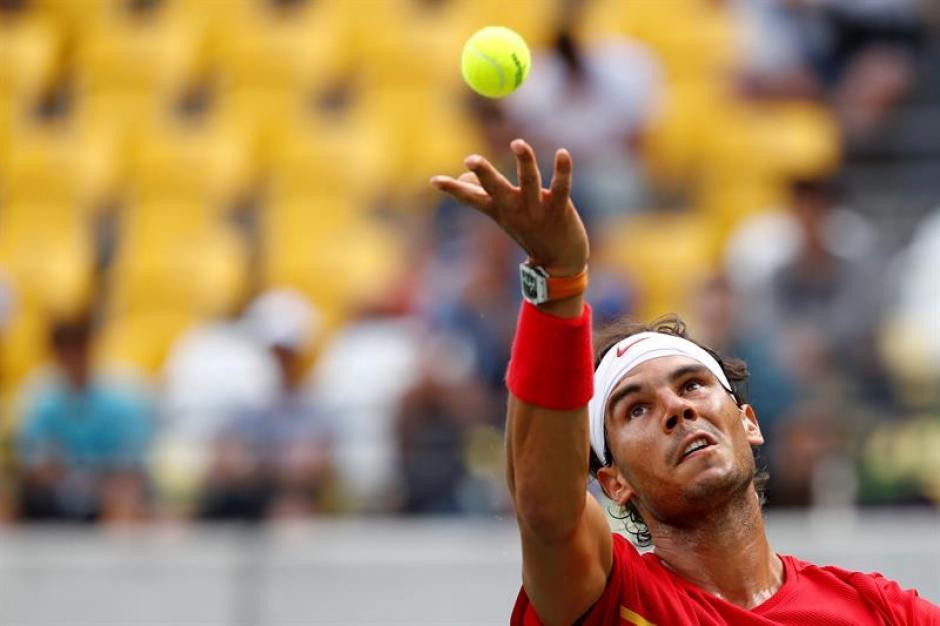El español disputó un partido para la historia. (Foto: EFE)