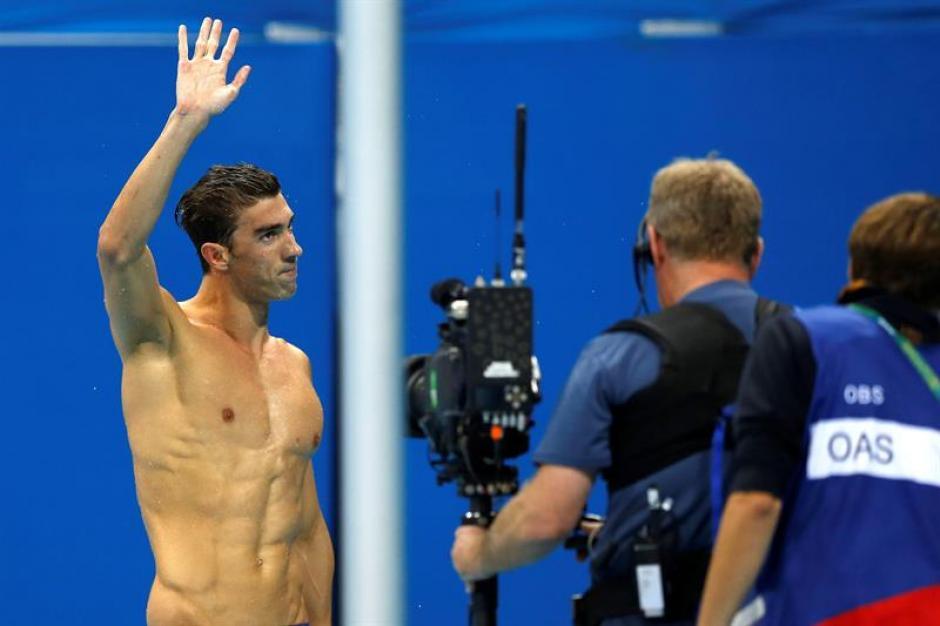 El nadador de Estados Unidos es una leyenda. (Foto: EFE)