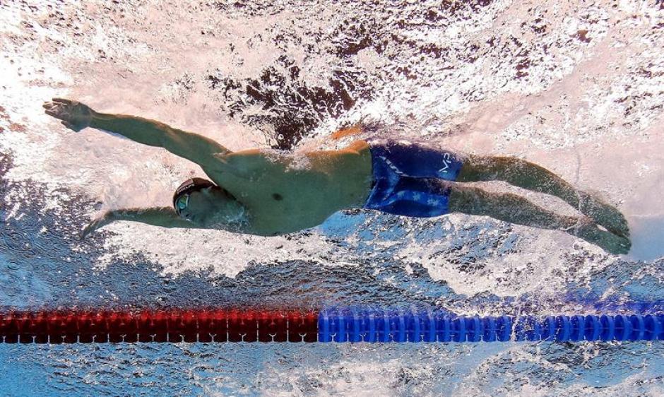 Michael Phelps es el deportista olímpico más condecorado de todos los tiempos. (Foto: EFE)