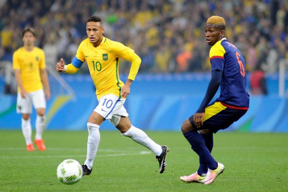"""""""Ney"""" y Brasil buscarán el único título que le falta al futbol brasileño.  (Foto: EFE)"""