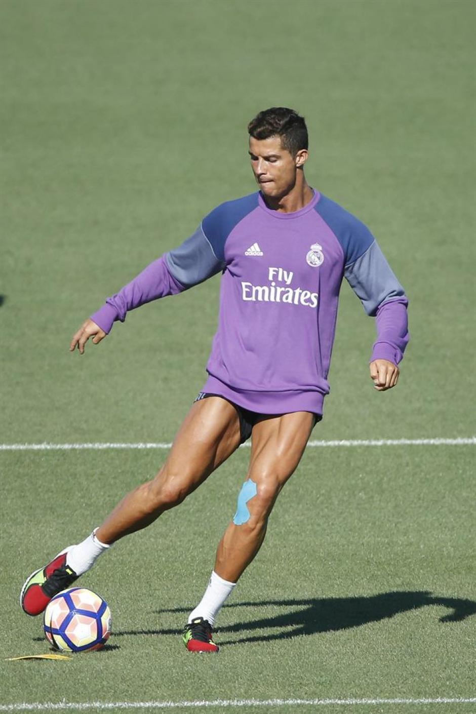 El portugués se recupera de su lesión. (Foto: AFP)