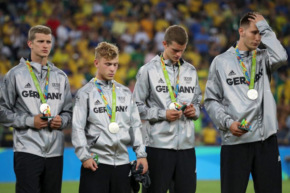 Los alemanes se quedaron con la medalla de plata. (Foto: EFE)