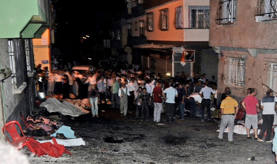 De acuerdo al presidente turco, Recep Tayyip Erdogan, el responsable del ataque fue un menor de entre 12 y 14 años. (Foto: EFE)