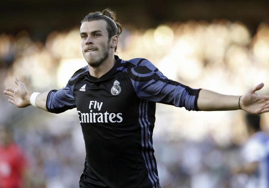 Gareth Bale abrió el marcador al minuto 1. (Foto: EFE)