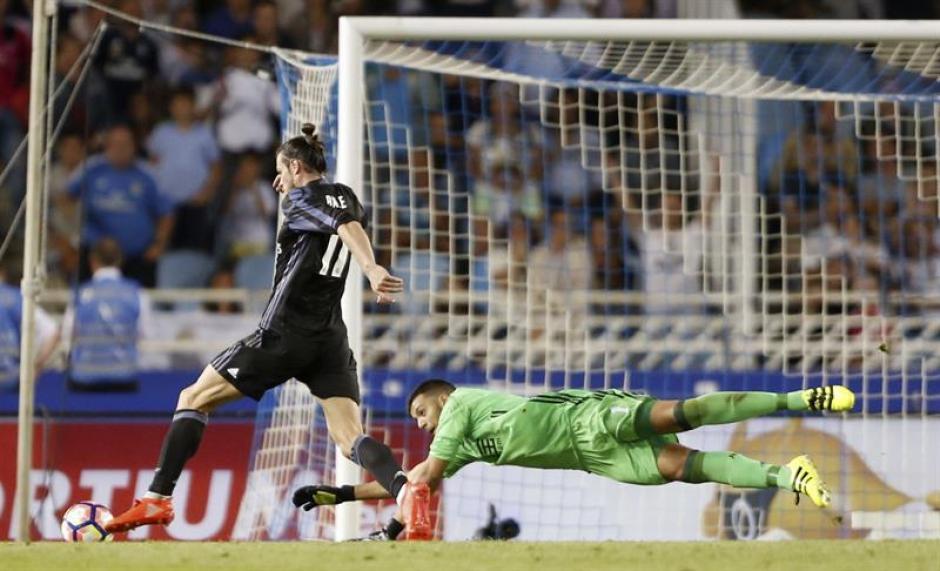 Así puso Bale el 0-3 en el último minuto. (Foto: EFE)