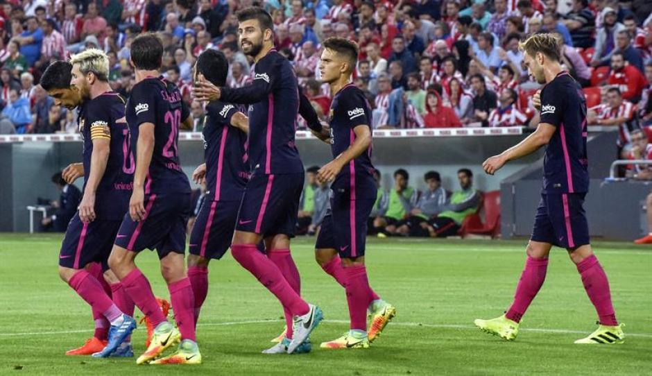 El Barcelona ganó por la mínima en casa del Athletic. (Foto: EFE)