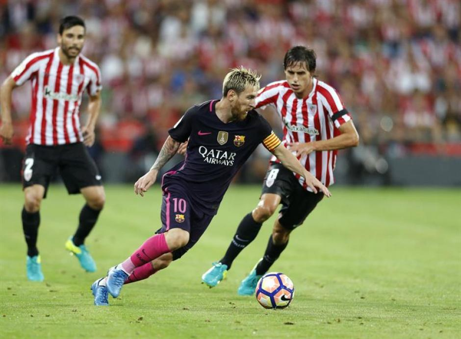 Messi todavía no sabe si podrá jugar el jueves ante Uruguay. (Foto: EFE)