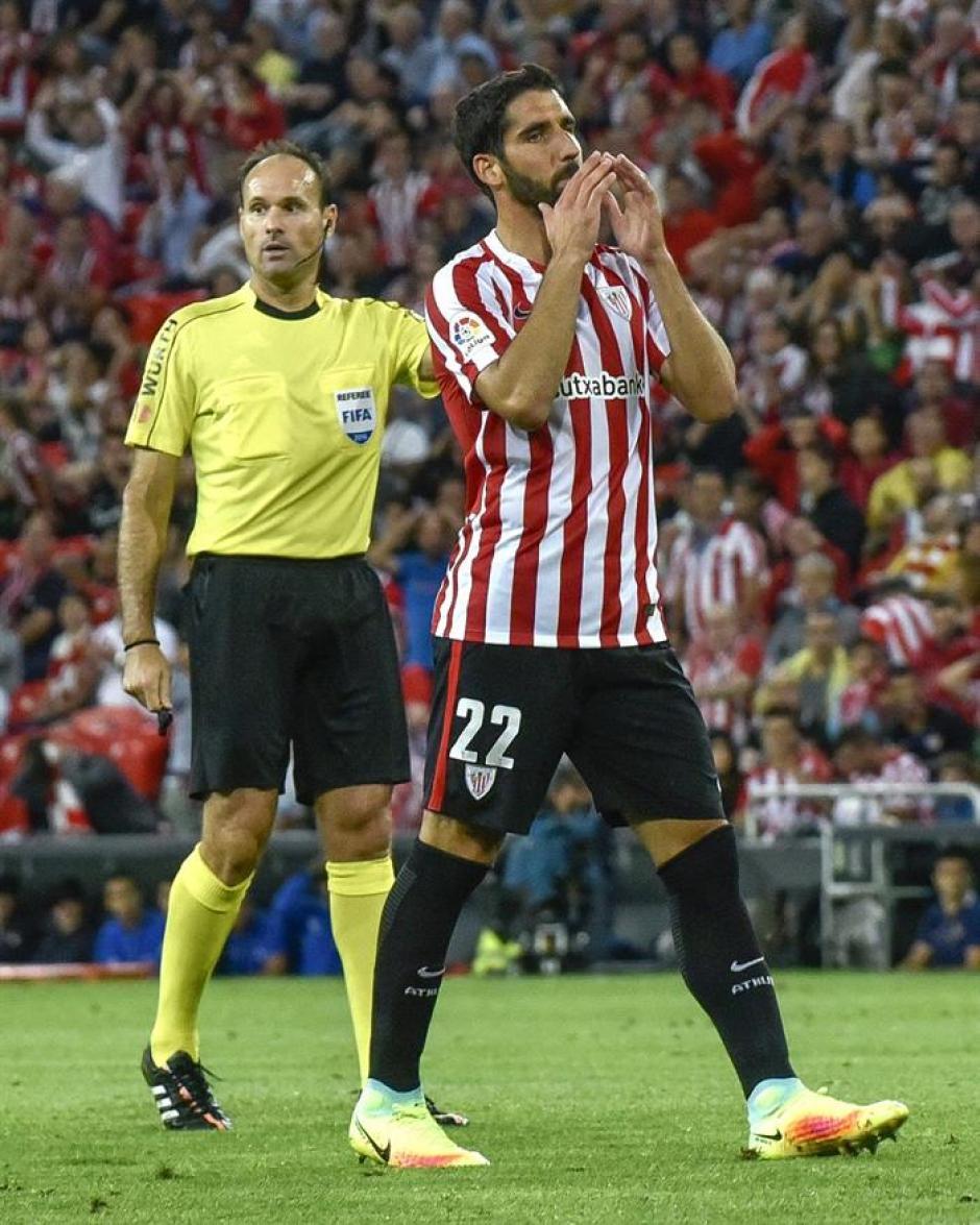El Athletic tuvo varias ocasiones para empatar. (Foto: EFE)