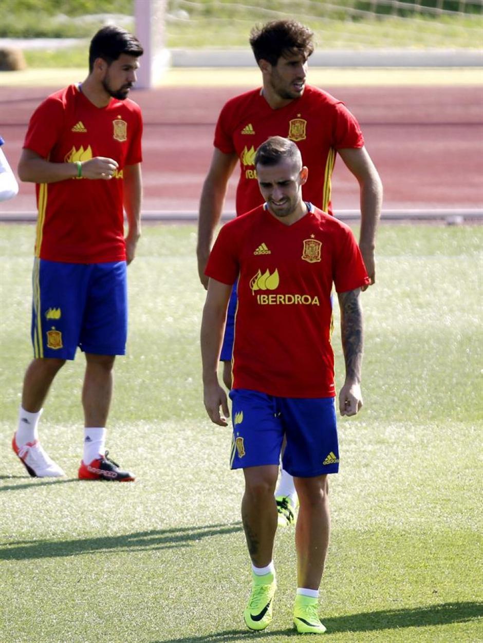 Alcácer está actualmente con la selección española. (Foto: EFE)