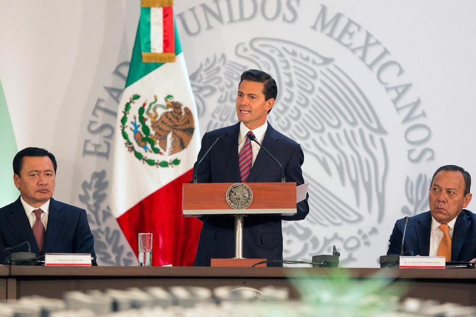 El presidente Enrique Peña Nieto invitó a candidato republicano a la presidencia de Estados Unidos Doland Trump. (Foto: EFE)
