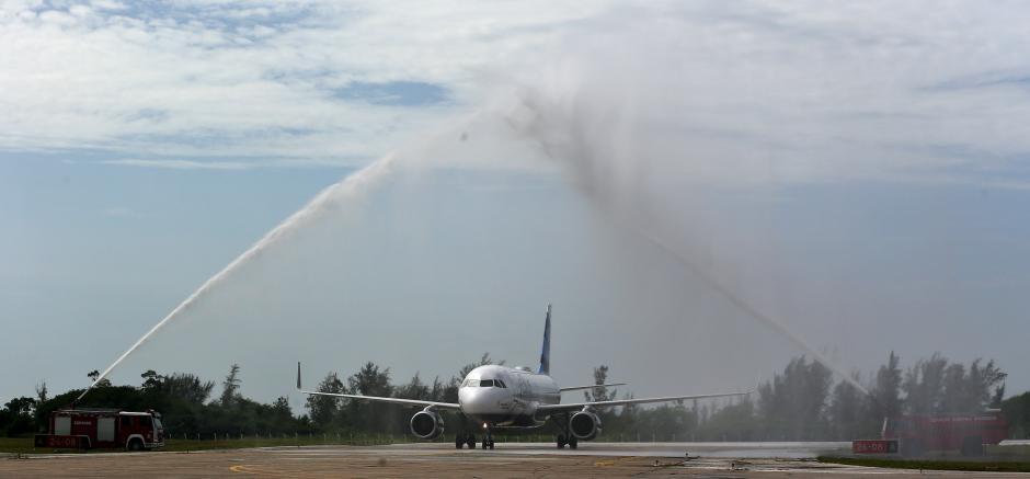 La aerolínea salió de Florida y una hora después llegó a La Habana. (Foto: EFE)
