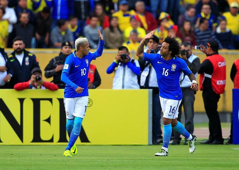 Brasil evitó meterse en un gran lío con dicha victoria. (Foto: EFE)