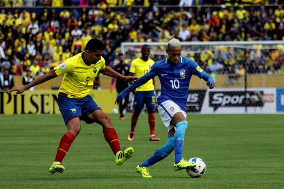 El capitán brasileño apareció en el partido contra Ecuador. (Foto: EFE)