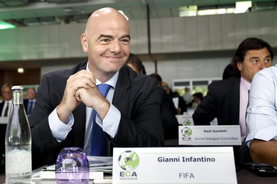 Gianni Infantino preside la FIFA desde el 26 de febrero de 2016. (Foto: EFE)
