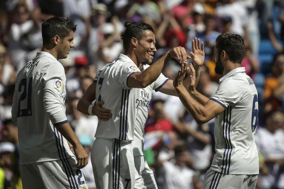 El Madrid queda como líder con nueve puntos en tres partidos. (Foto: EFE)