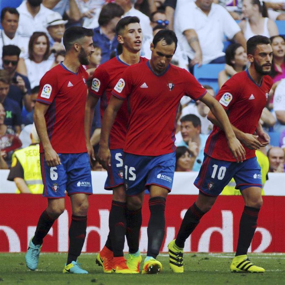 Pese a caer goleado, el Osasuna dio una buena imagen. (Foto: EFE)