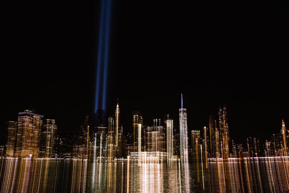 Una Luz se instaló en el World Trade Center. (Foto: EFE/Alba Vigaray)