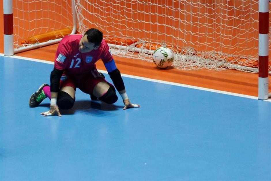 Guatemala cae 5-1 frente a Italia en el Mundial de futsal. (Foto: EFE)