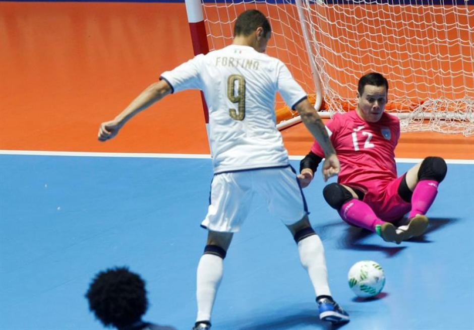 Italia golea a Guatemala y le propina su segunda derrota en el Mundial de futsal. (Foto: EFE)