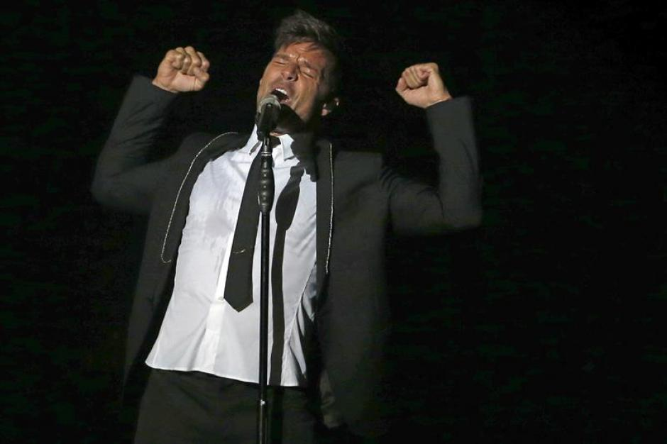 Ricky Martin está de gira en España y desde ese país hizo un llamado a los estadounidenses. (Foto: EFE)