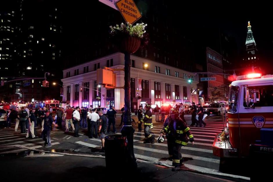 La bomba dejó 29 heridos en Nueva York. (Foto: EFE)
