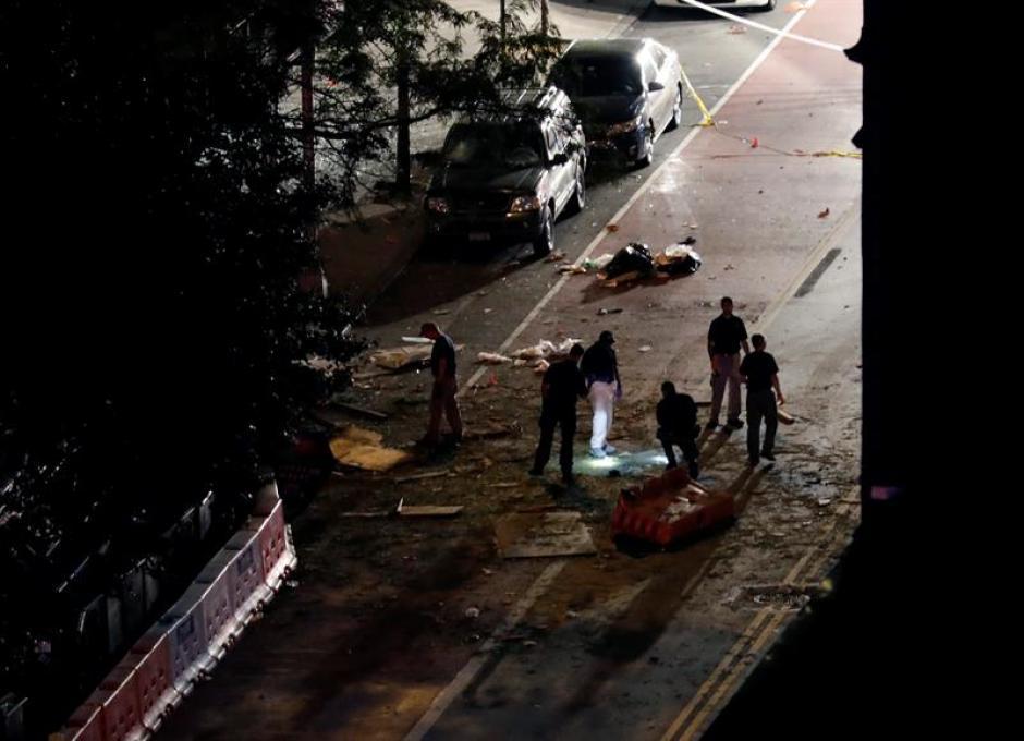El momento de la explosión quedó grabado en video. (Foto: EFE)