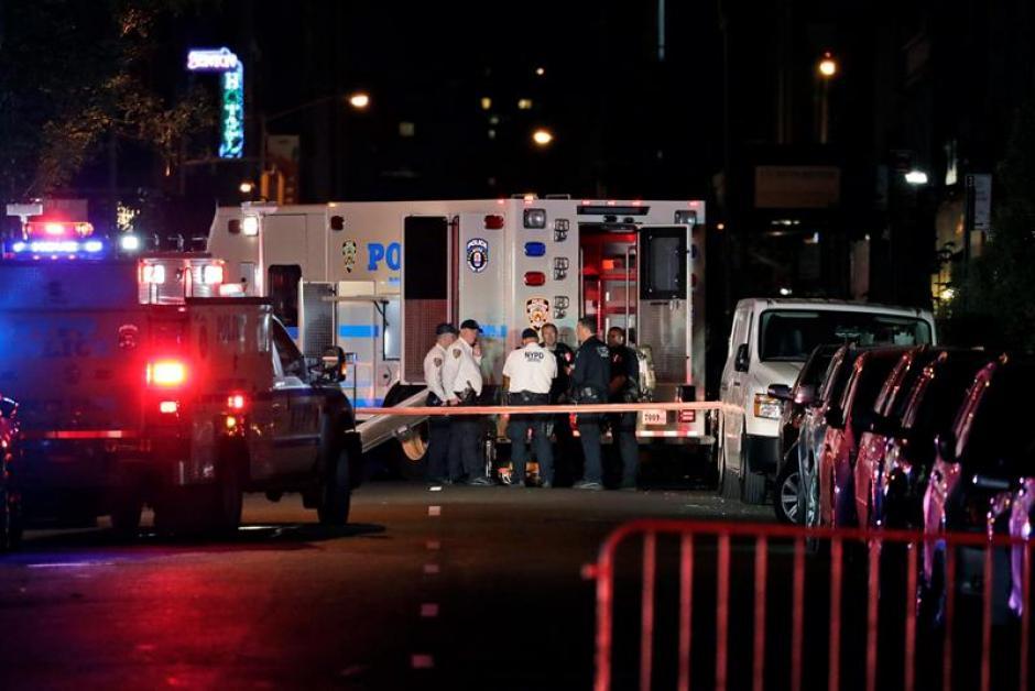 La bomba causó 29 heridos en el centro de la ciudad. (Foto: EFE)
